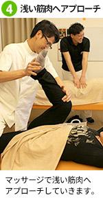 腰痛施術4